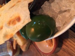 Sköna gröna oliver hos Jamie Oliver